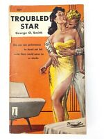 Troubled Star by George O. Smith PB 1st Beacon 256 - cover by EMSH