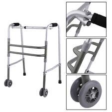 Medical Equipment Health Care 350lb Foldable Adjustable Old Walking Aid Walker