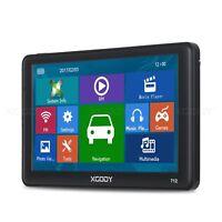 XGODY 712 7'' GPS Navegador 256MB RAM Bluetooth Auto Navegación 8GB FM Handel
