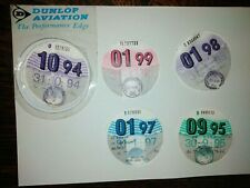 Used car tax disc +DUNLOP AVIATION licence holder accessory show display '93-99
