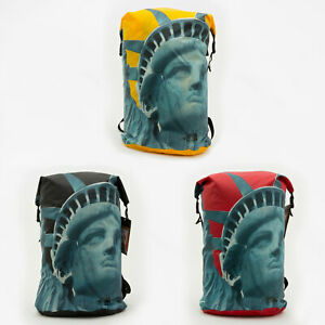 Supreme FW19 The North Face Statue Of Liberty Waterproof Backpack logo box tee