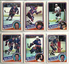 1984-85 O-Pee-Chee Hockey 19-card New York Islanders Team Set   Mike Bossy
