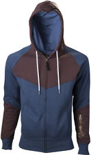 Assassin'S Creed Unity Blue Brown Hoodie With Print Felpa Con Cappuccio Uomo L