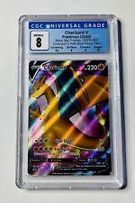 FULL ART Charizard V ULTRA RARE PROMO Pokemon SWSH050 Champion's Path CGC 8