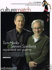 Coupure de Presse Clipping 2010 (3 pages) Tom Hanks Steven Spielberg