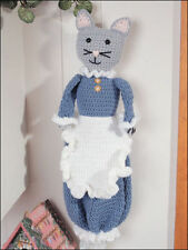 CROCHET PATTERN-Sweet Kitty Cat Sac Support Pour Cuisine