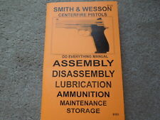 Smith & Wesson Centerfire 9mm Auto Pistol Manual 30 pages