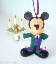 New Disney Parks Haunted Mansion Mickey Mouse Christmas Ornament