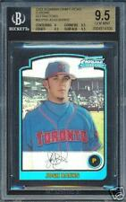 BGS 9.5 2003 Bowman Chrome REF Rookie JOSH BANKS RC
