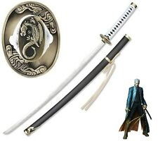 Devil May Cry 3 Yamato Sword of Vergil  Sword Anime w/Single Sword Stand