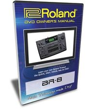 Roland (Boss) BR-8 DVD Video Training Tutorial Help