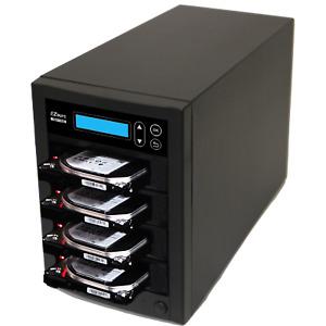EZ Dupe Pantera 1 to 3 Hard Drive Duplicator & sanitizer / SSD Cloner 150MBps