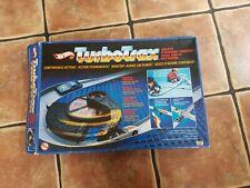 VINTAGE 1985  MATTEL HOTWHEELS TURBOTRAX QUALIFIER RACE SET 2148 NO CARS