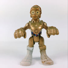 Star Wars Galactic Heroes C-3PO Figure With Tatooine Sand Silver Foot Toys Gift