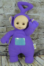 "1998 Talking Teletubies Tinky Winky Purple Plush 18"" Hasbro"