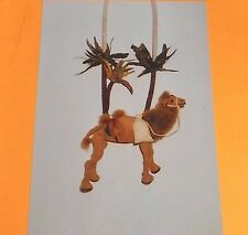 NEW Plush Camel Necklace & Stand Alone Pattern- Camel by Ruth Prest #AB103-OOP