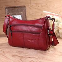 Fashion Women's Genuine Leather Satchel Tote Handbag Hobo Messenger Shoulder Bag