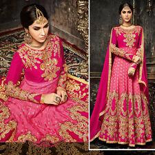 New Indian Pakistani Designer Salwar Kameez Anarkali Bollywood Wedding Dresses