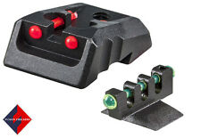 1911 Colt Fiber Optic Sight Red With Green Contour Front Dovetail Cut