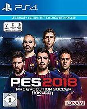 PES 2018 - Legendary Edition - [PlayStation 4] von ... | Game | Zustand sehr gut