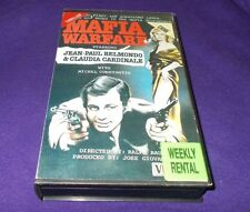 MAFIA WARFARE VHS PAL CIDEO CLASSICS JEAN-PAUL BELMONDO