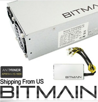 Bitmain Asic PDU Power Supply APW3++ Used for S9 Z9 L3+ D3 B3 X3 Free Shipping!!
