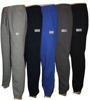 Mens Fleece Jogging Bottoms Branded Casual Wear Trouser Joggers ActiveWear M-3XL
