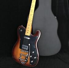 Custom Shop Vintage Electric Guitar Tobacco Color ASH Body Bigsby Bridge Bighead