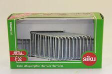 Siku 2464 10 Barrière à grillage 1:32 nouvelles en emballage d'origine