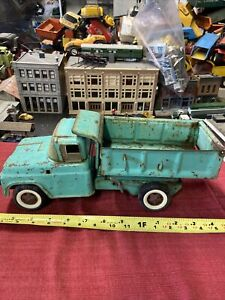 "Vintage Tonka 60's ""Buddy L"" Teal Blue Hydraulic Parts/repair NICE LOOK"