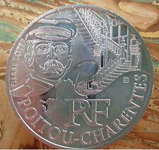 10 euros Poitou  Charentes 2012 - Neuve