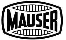 Autocollant sticker MAUSER ( 98 C 96 G K 88 41 GUN STAND GEWEHR )