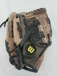 "Wilson Youth Leather Baseball Glove PRO 10.5"" Dual Hinge AO452 PG105 LHT"