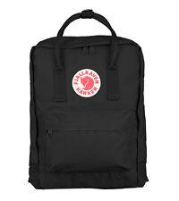 """New Women Men Fjallraven Kanken F27172 15"""" Laptop Backpack (#550 Black)"""