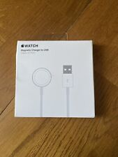 Genuine APPLE Watch Magnetic Charger to USB Cable - 0.3m 38mm 40mm 42mm 44mm