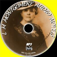 L M MONTGOMERY 8 GREAT NOVELS AUDIO BOOKS NEW MP3 PC-DVD ANNE OF GREEN GABLES