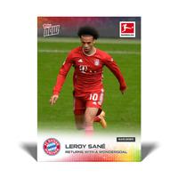 Topps Now Bundesliga 2020-21 - Card 029 - Leroy Sane - Bayern München Wondergoal
