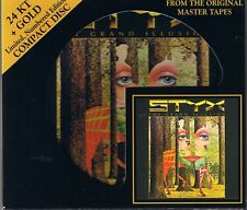 Styx The Grand Illusion 24 Karat Gold CD Audio Fidelity AFZ 067 Nr. OOP