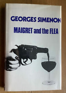 Georges Simenon.  Maigret and the Flea. 1st UK edition, 1972