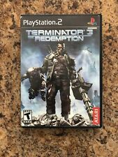 Terminator 3: The Redemption (Sony PlayStation 2, 2004) PS2 complete CIB RARE