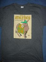 Oakland A's Charlie O T-shirt 6-20-2015 sz X-Large Athletics tee Shirt