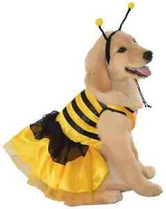 Bumblebee Insect Bumble Bee Animal Fancy Dress Up Halloween Pet Dog Cat Costume