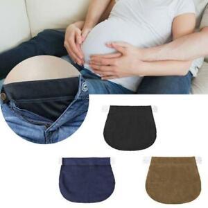 Maternity Trousers Waist Expander Pregnant Pregnancy Jeans Waistband Extender UK