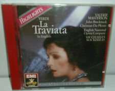 CDM 7 63725 2 Verdi La Traviata Highlights In English Masterton / Mackerras