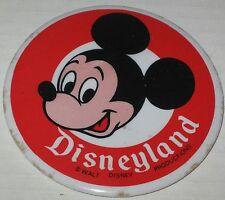 """Circa 1980 Disneyland Mickey Mouse Souvenir Button / Pin 3.5"""" Has Spots"""