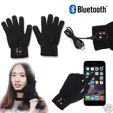 Bluetooth Gloves Talking Touch Screen Mobile Headset Speaker For iPhone Andriod