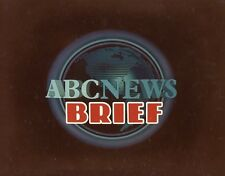 ABC NEWS BRIEF LOGO ORIGINAL 1981 ABC TV PHOTO BILLBOARD