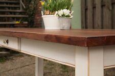 Tisch Esstisch Massivholz Landhaustisch Esszimmer M04 200 cm shabby antik matt