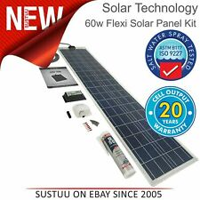 Solar Technology PV Logic 60W Flexi Solar Panel Kit & 10A Controller│STPVFRT060