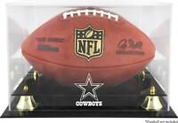 Dallas Cowboys Team Logo Football Display Case - Fanatics